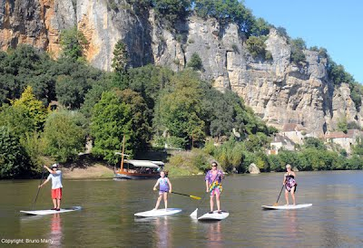 stand up paddle- dordogne